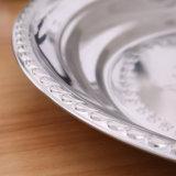 Yiwu Hotsale plats ronds Plaques en acier inoxydable