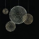 Lampadario a bracci moderno inossidabile di sorgente luminosa del materiale LED del lampadario a bracci della sfera