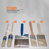 F-07 крепежные детали краски украшают резиновую рукоятку ручного инструмента из синтетических нитей накала кисти