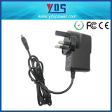 UK/Us/EU/AuのAdapter 2.0*0.6mmの5V 2A Tablet Wall Plug