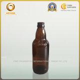 カスタマイズされたこはく色カラー341mlは空けるビール瓶(045)を