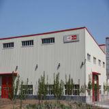 Marco de metal prefabricados estructurales de acero naves de almacenamiento