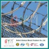 Barrera de alambre de navaja tipo pirámide/ alambre de navaja barrera de seguridad móvil