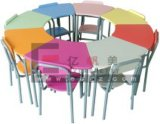 調節可能なSchool Furniture Wooden Adjustable Kids TableおよびChair