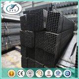 Tubo del negro del cuadrado de la estructura del material de construcción del almacén