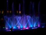 Water Screen Fountain와 LED를 가진 우크라이나 Water Fountain Project Combining