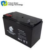 Bateria recarregável do AGM de 12V 100ah VRLA para o armazenamento da potência solar do UPS