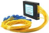 16 Sc Upc PLC Gpon 쪼개는 도구 모듈에 아BS 상자 유형 FTTH 1