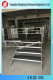 Деятельность из алюминиевого сплава этап перемещение алюминиевые ступени