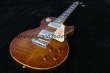 Kits de guitare / DIY LP 1959 r9 Style LP Tiger flamme guitare électrique (BPL-72)