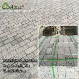 Granito/basalto/ardesia/arenaria/patio neri naturali di Porphyr che pavimenta la pietra del ciottolo