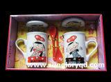Чашки пар фарфора Qlb030