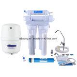 4 Stadiums-umgekehrte Osmose-Wasser-Reinigungsapparat-Wasser-Filter ohne Pumpe
