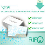 Papier synthétique BOPP blanc Rph-100 pour cartes d'itinéraire de voyage