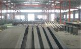 기중기를 가진 전 설계된 강철 구조물 작업장 또는 창고
