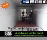 Wellcampの容易なインストール済み携帯用拡張可能容器の家