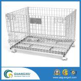 Envase de almacenaje plegable del acoplamiento de alambre para el almacenaje del almacén usar