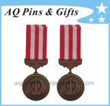 Zink Medallions mit 2c Stripe Ribbon