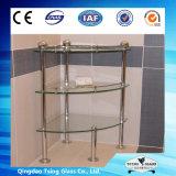 Wahsing部屋のためのガラス棚かコーナーまたは壁または装飾