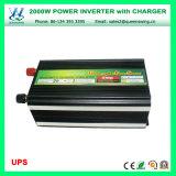デジタル表示装置(QW-M2000UPS)が付いている高性能2000W UPSの充電器インバーター