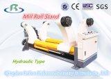 Série de machine à emballer de carton : Stand hydraulique de bobine (Shaftless)