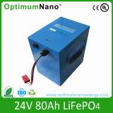 UPS를 위한 24V 80ah 리튬 철 LiFePO4 건전지
