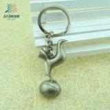 Jiabo Custom Designed Matt Silver Metdal 3D Porte-clés