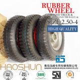 Hand-LKW-Reifen-Laufkatze-Reifen-pneumatisches Eber-Rad-Gummireifen-Fußrollen-Rad 2.50-4