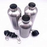 Sports Vakuum IsolierEdelstahl 750ml Wasser-Flasche mit Edelstahl-Kappe (SH-ST13)