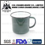 Tasse en métal émail émail personnalisée certifiée de qualité alimentaire