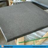 Черный Sandblasted базальтовой плитка для пола