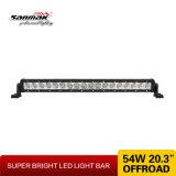 20 polegadas Offroad Light CREE barras de luz LED de 3 W para veículos