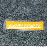 Etiquetas adesivas personalizadas em resina de retângulo em forma de retângulo