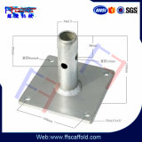 Base di appoggio della costruzione d'acciaio per l'armatura