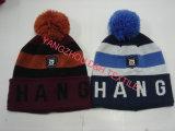 Схемы вязания теплых Red Hat с Pompoms/спицы головные уборы (DH-LH7232)