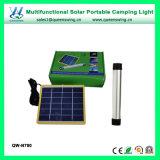 Luz de acampamento solar portátil multifuncional com carregador de emergência (QW-N780)