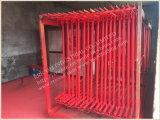 De poeder Met een laag bedekte Frames van de Steiger van de Ladder en de Steiger van het Frame van H