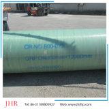 Tubulação do enrolamento da pressão da tubulação do Slat da tubulação de água GRP da tubulação de FRP