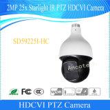 De OpenluchtCamera Hdcvi van IRL PTZ van het Sterrelicht van Dahua 2MP 25X (sd59225i-HC)
