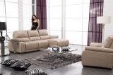 Sofá de couro reclinável para casa, modelo 917