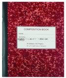 Cuadernos personalizados de composición impresa