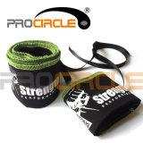 Poignet de levage de poids en coton Wraps Wraps Bracelet (PC-WW1005)