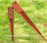 Pole Type d'ancrage et matériau en acier Ground Spike