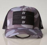 印刷パターン6パネルの網の帽子のトラック運転手の帽子の製造業者
