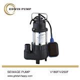 Bomba de água submergível da água de esgoto de V180f/V250f