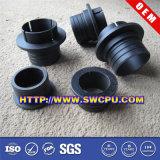 Borracha de silicone feito-à-medida luva plástica (SWCPU-P-PP023)