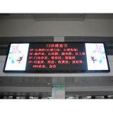 Einzelne rote Bildschirm-Bildschirmanzeige der im Freienbekanntmachenanschlagtafel-LED