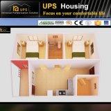 Casa prefabricada modular con dos dormitorios con certificaciones de SABS y del SGS