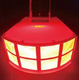 Venta caliente RGBW Shell LED luz efecto