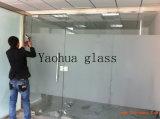 травленое стекло кислоты 4-12mm для стены комнаты/офиса ливня
